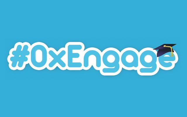 Logo of #OxEngage