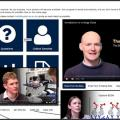 Collage of screenshots from the Viral outbreak online 'iCase' teaching platform
