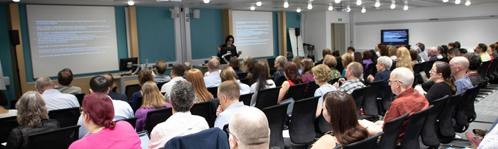 Donna Lanclos presenting to delegates at the UCISA conference on 'Digital Capabilities'
