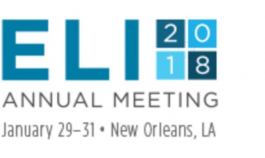 Logo for ELI 2018