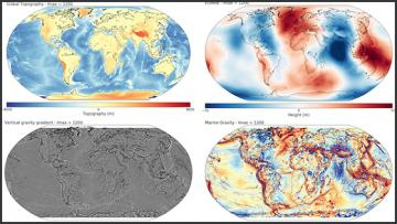 four subsurface representations of the earth