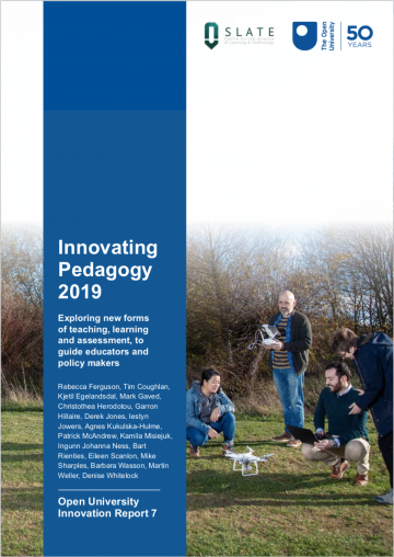 Cover of the Innovation Pedagogy 2019 report